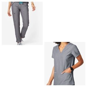 Figs Scrub Set: Casma Top & Yola Skinny Pants